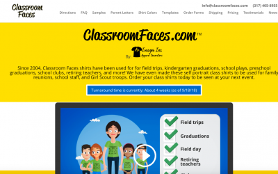 Welcome to Classroom Faces!